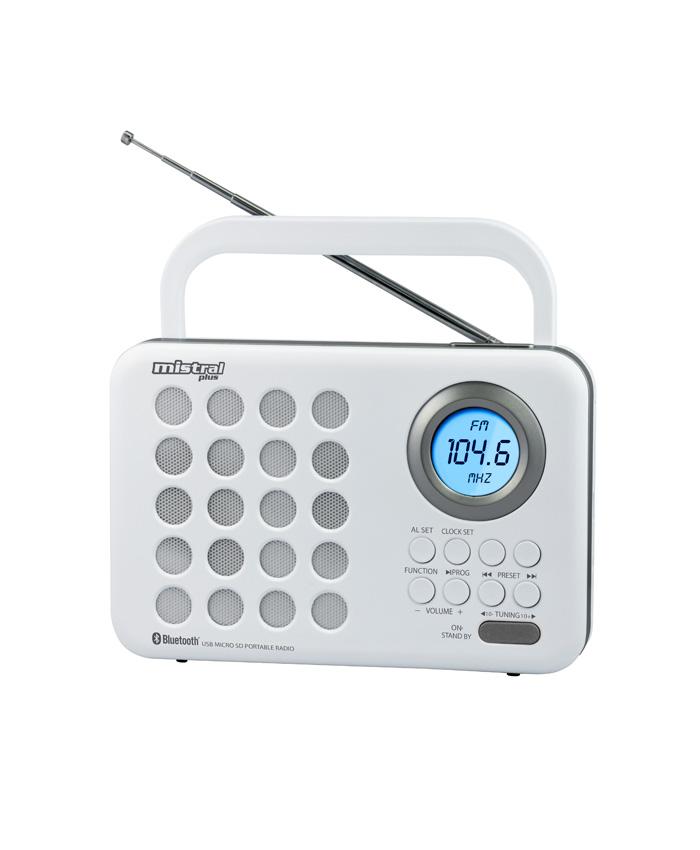 Ραδιόφωνο Ψηφιακό με ρολόι TR-472 MISTRAL PLUS